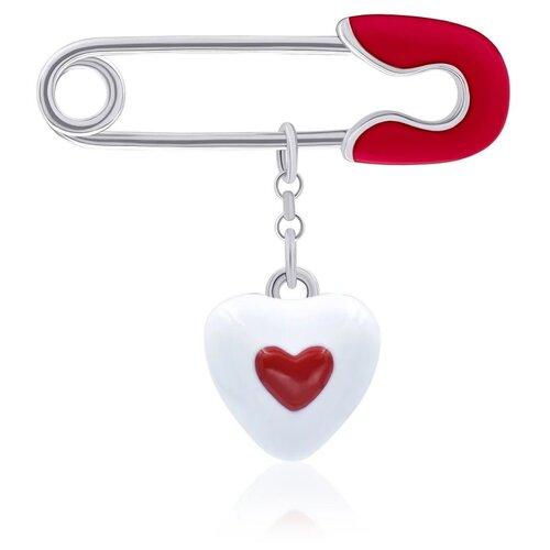 UMa & UMi Детская серебряная булавка Сердце в сердечке UMI Symbols 619556900621 uma