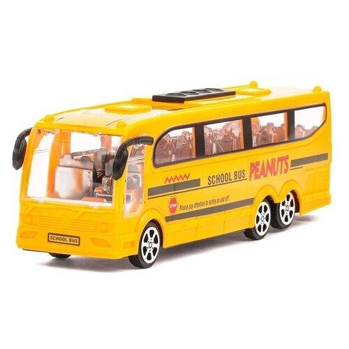 Фото - Автобус Сима-ленд 1011448, 25 см, Желтый автобус сима ленд 1011448 25 см желтый