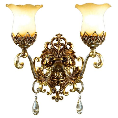 Настенный светильник Odeon Light Safira 2802/2W, E27, 120 Вт светильник odeon light foks 4103 3 e27 120 вт