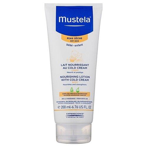 Купить Mustela Питательное молочко для тела с кольд-кремом, 200 мл, Уход за кожей