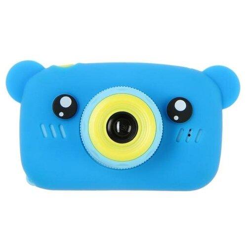 "Фотоаппарат Сима-ленд KIDS Fun Camera Bear ""Мишка"" синий"
