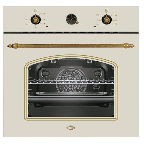 Фото - Электрический духовой шкаф MBS DE-606IV встраиваемый электрический духовой шкаф mbs de 603