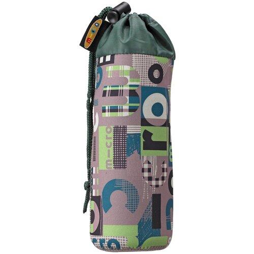 Micro Держатель для бутылок Word, зеленый