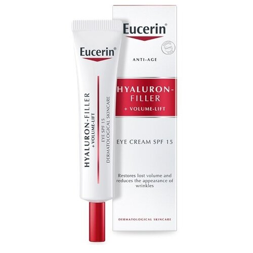 Купить EUCERIN Крем для ухода за кожей вокруг глаз 15 мл