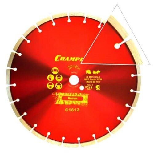 Диск алмазный CHAMPION бетон ST 300/25,4/10 Concremax (старый бетон ,ж/б с наполн.сред.тв) (арт. C1612)