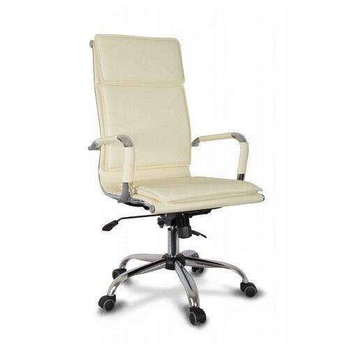 Компьютерное кресло College CLG-617 LXH-A для руководителя, обивка: искусственная кожа, цвет: бежевый