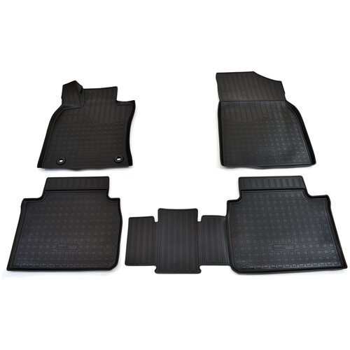 Фото - Комплект ковриков салона NorPlast NPA11-C88-100 для Toyota Camry 4 шт. чёрный комплект ковриков norplast npa11 c94 700 5 шт бежевый