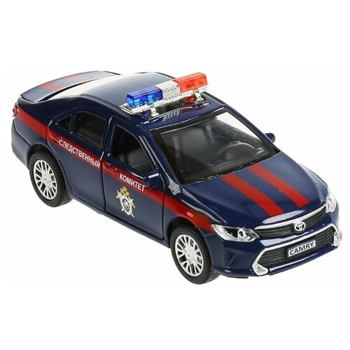 Легковой автомобиль ТЕХНОПАРК Toyota Camry следственный комитет (CAMRY-12SLCOM-BU), 12 см, синий