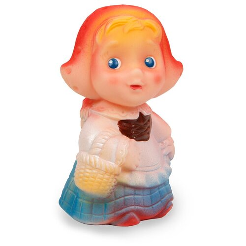 Фото - Игрушка для ванной ОГОНЁК Красная шапочка (С-421) белый/красный/синий игрушка для ванной огонёк утенок с 355 желтый красный
