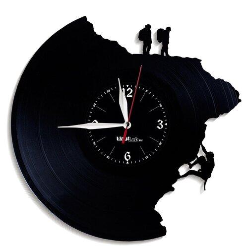 Часы из виниловой пластинки (c) VinylLab Альпинизм