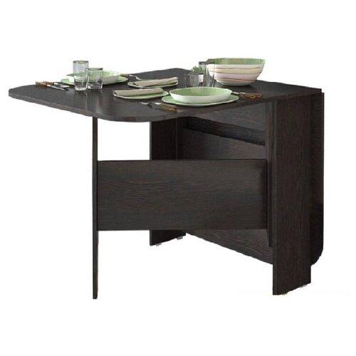 Стол кухонный ТриЯ Т1, раскладной, ДхШ: 23.2 х 80 см, длина в разложенном виде: 160 см, венге цаво стол кухонный трия т1 раскладной дхш 23 2 х 80 см длина в разложенном виде 160 см венге цаво