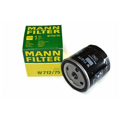 Масляный фильтр MANNFILTER W 712/75 недорого