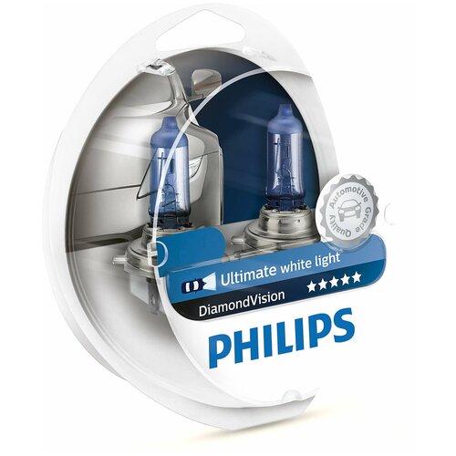 Лампа автомобильная галогенная Philips Diamond Vision 9006DVS2 HB4 55W 2 шт.