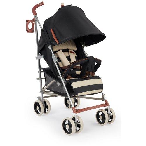 Коляска-трость Happy Baby CINDY, съемный бампер, black happy baby коляска трость happy baby twiggy green