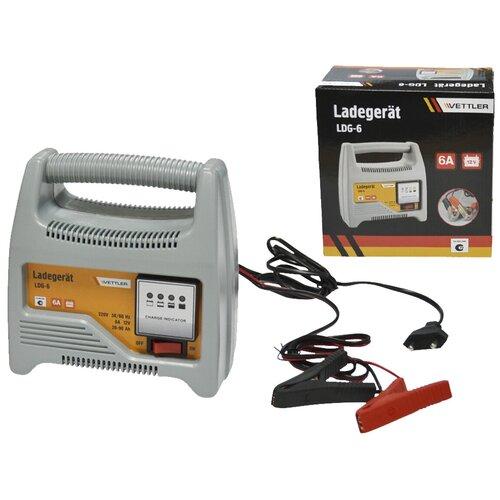 Зарядное устройство для автомобиля VETTLER LDG-6 12V 6A (для АКБ до 90 Ач)