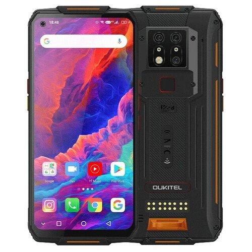 Смартфон OUKITEL WP7 6/128GB черный/оранжевый