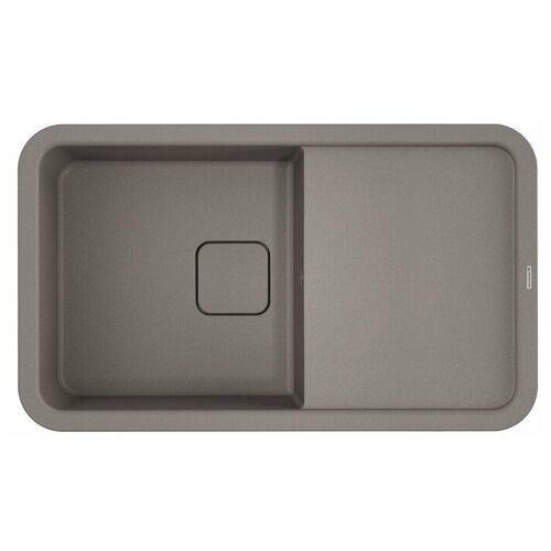 Врезная кухонная мойка 86 см OMOIKIRI Tasogare 86 ленинградский серый