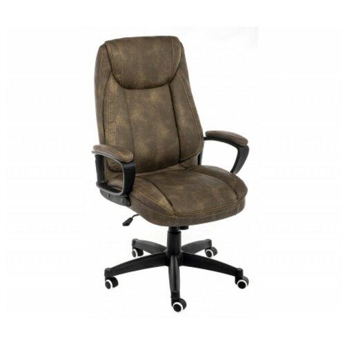 Фото - Компьютерное кресло Woodville Leo офисное, обивка: искусственная кожа, цвет: коричневый компьютерное кресло woodville rich офисное обивка искусственная кожа цвет коричневый