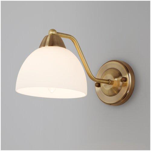 Настенный светильник Eurosvet Carissa 30172/1 античная бронза, 40 Вт