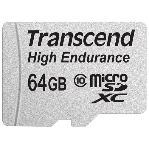 Фото - Карта памяти Transcend TS64GUSDXC10V карта памяти transcend ts16gusdc10
