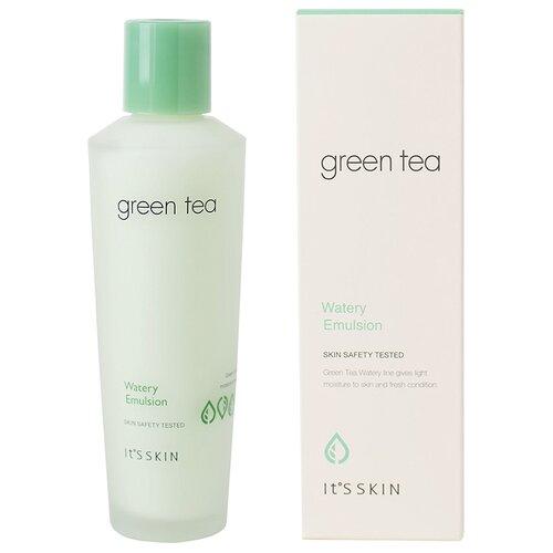 ItS SKIN Green Tea Watery Emulsion Эмульсия для лица для жирной и комбинированной кожи с зеленым чаем, 150 мл