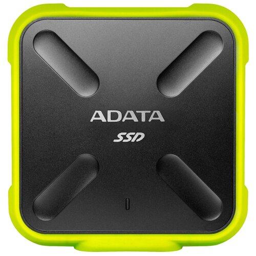 Фото - Внешний SSD ADATA SD700 256 GB, желтый внешний ssd adata se800 512 gb синий