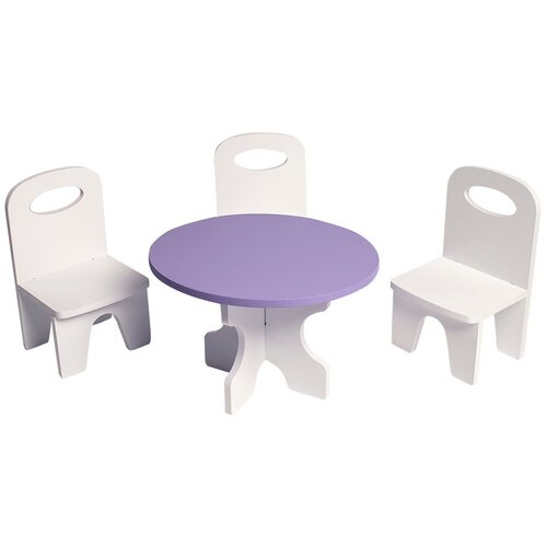 Фото - PAREMO Набор мебели для кукол Классика (PFD120) белый/фиолетовый paremo набор мебели для кукол цветок pfd120 45 pfd120 46 pfd120 44 pfd120 42 pfd120 43 белый фиолетовый