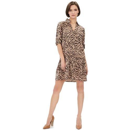 Фото - Платье Baon, размер XS, beige printed шорты baon размер xxl 52 dark beige