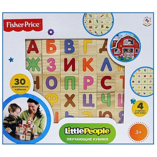 Кубики-пазлы Fisher-Price Алфавит 30544
