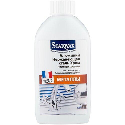 Фото - Starwax жидкость для чистки металлов, 0.25 л гель для чистки унитаза starwax respect 750 мл