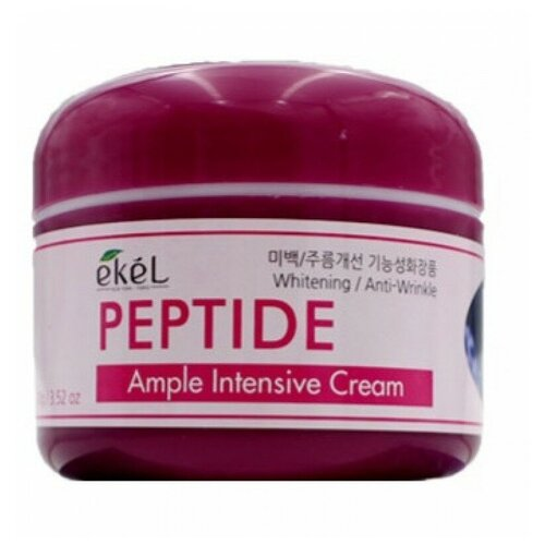 Купить Ekel Ample Intensive Cream Peptide Крем для лица с пептидами, 100 г