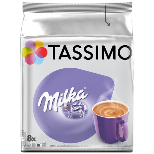 Какао в капсулах Tassimo Milka, 8 капс.