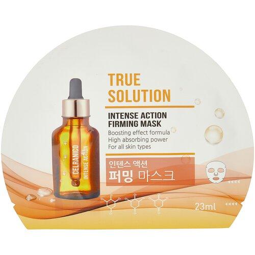 Celranico тканевая маска True Solution Intense Action c интенсивным лифтинг-эффектом, 23 мл недорого