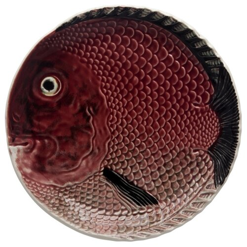 Тарелка десертная Bordallo Pinheiro Рыбы 18,5см