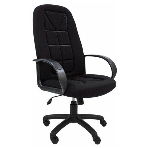 Компьютерное кресло Русские Кресла РК-127 для руководителя, обивка: текстиль, цвет: S черный