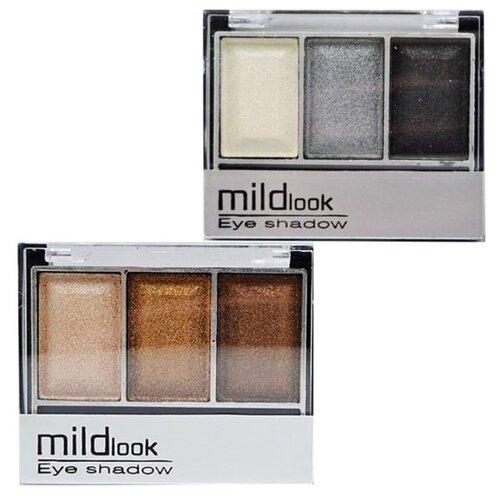 MildLook Набор из 2 палеток теней 5033 01/19 недорого