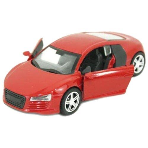 Купить Легковой автомобиль Yako Драйв (M6110) 1:34, 12 см, красный, Машинки и техника
