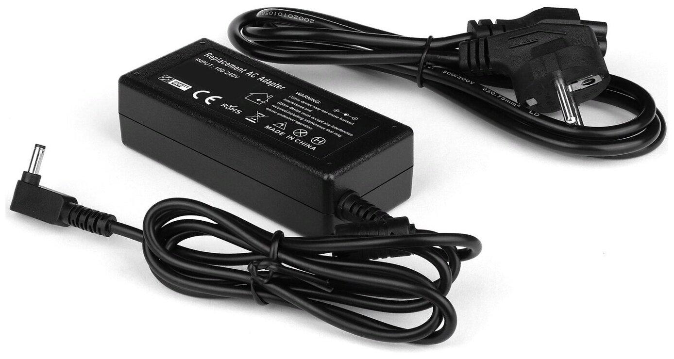 Зарядка (сетевой адаптер, блок питания) для ноутбука Asus 19V 1.75A 33W штекер: 4.0 x 1.35 мм (сетевой кабель в комплекте) — купить по выгодной цене на Яндекс.Маркете