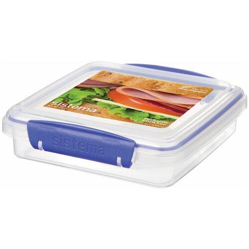 Sistema Контейнер для сэндвичей KLIP IT Rectangular 1645, 15x15.5 см, прозрачный недорого