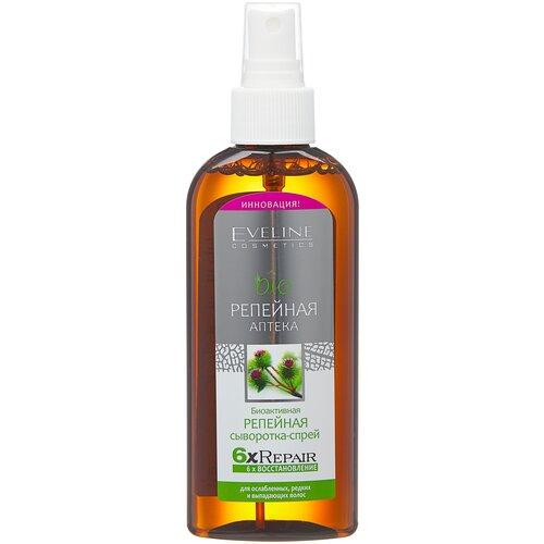 Купить Eveline Cosmetics Bioрепейная аптека Биоактивная репейная сыворотка-спрей для волос и кожи головы, 150 мл