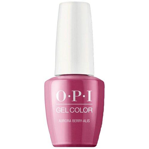 Фото - Гель-лак для ногтей OPI Classics GelColor, 15 мл, Aurora Berry-alis гель лак для ногтей opi classics gelcolor 15 мл lincoln park after dark
