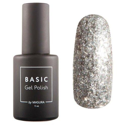 Гель-лак для ногтей Masura Basic, 11 мл, Алмазная Крошка гель лак для ногтей masura basic 11 мл саргассово море