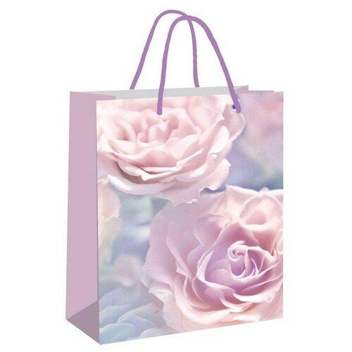 Пакет подарочный Pioneer Розовый кварц 33 х 45 х 10 см розовый бусы кэтти розовый кварц