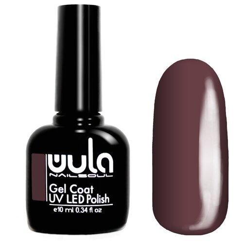 Гель-лак для ногтей WULA Gel Coat, 10 мл, 340 темный красно-пурпурный лак wula базовая палитра 16 мл оттенок 13 капучино