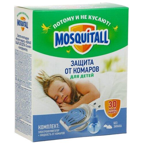 Комплект Mosquitall «Для дома и дачи»: электрофумигатор + жидкость 30 мл для детей