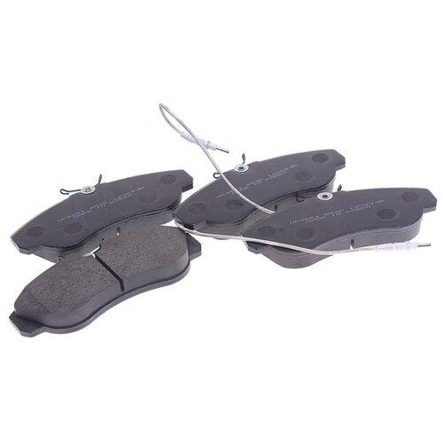 Дисковые тормозные колодки передние HONG SUNG BRAKE HP9551 для Peugeot Boxer (4 шт.) дисковые тормозные колодки передние hong sung brake hp8153 для honda civic 4 шт