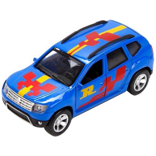 Легковой автомобиль ТЕХНОПАРК Renault Duster Спорт (DUSTER-SPORT), 12 см, синий легковой автомобиль технопарк renault kaptur 1 36 12 см оранжевый