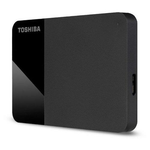 Фото - Внешний HDD Toshiba Canvio Ready 3.2 2 ТБ, черный внешний жесткий диск 2 5 usb3 0 1tb toshiba canvio ready hdtp210ek3aa черный