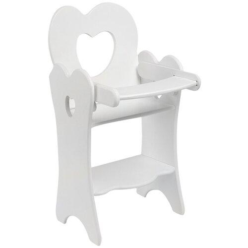 PAREMO Кукольный стульчик для кормления (PFD120) белый paremo кукольный стульчик для кормления мини pfd120m белый