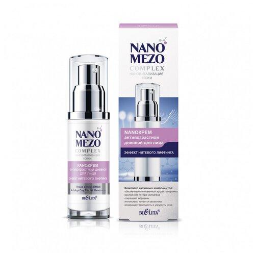Купить Bielita NanoMezoComplex NanoКрем антивозрастной дневной для лица Эффект нитевого лифтинга, 50 мл